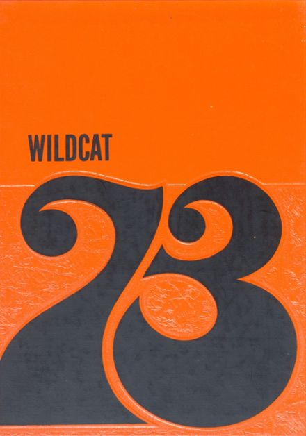 1973 Jewell High School Yearbook Cover