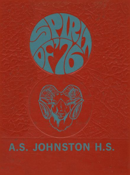 1976 Johnston High School Yearbook Cover