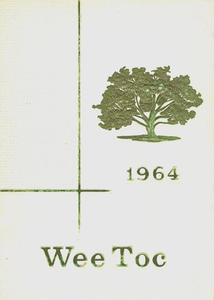 1964 White Oak School Yearbook Cover