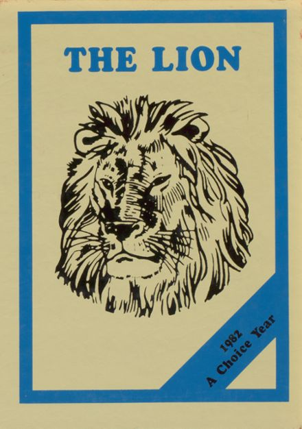1982 Plaza High School Yearbook Cover