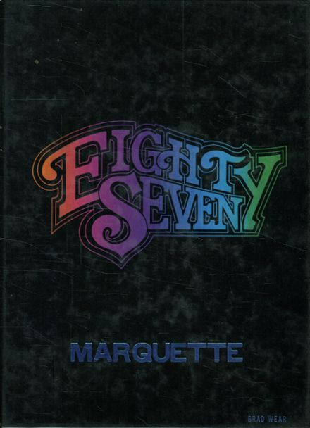 1987 Marquette High School Yearbook Cover