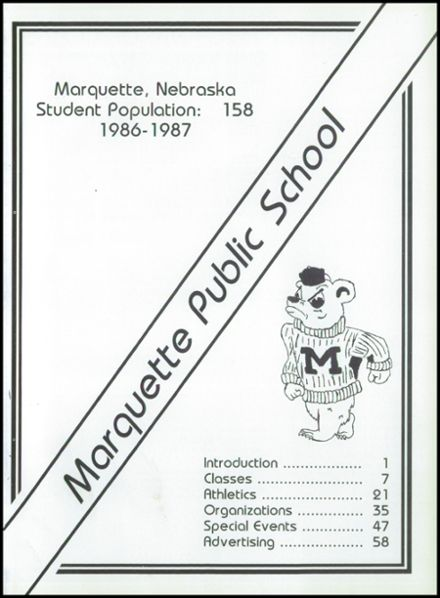 1987 Marquette High School Yearbook Page 5