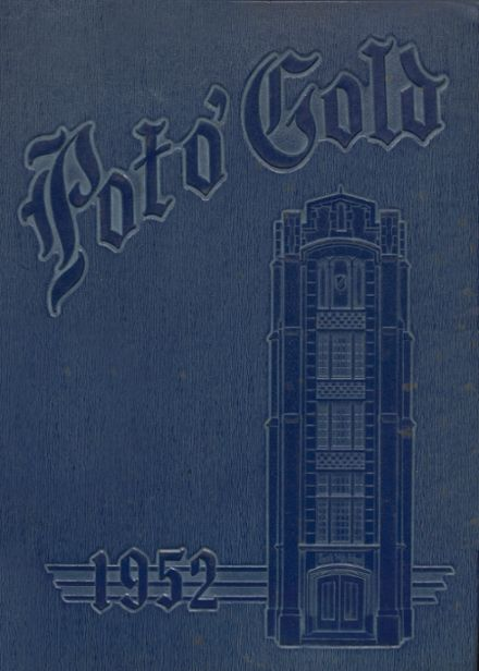 1952 South High School Yearbook Cover