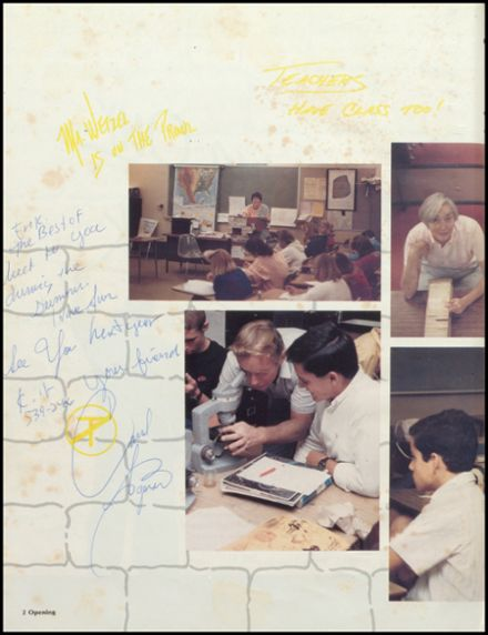 1986 Estancia High School Yearbook Page 6