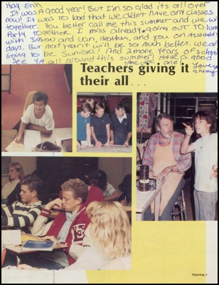 1986 Estancia High School Yearbook Page 7