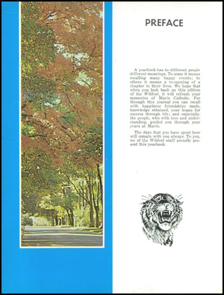 1965 Marin Catholic High School Yearbook Page 6