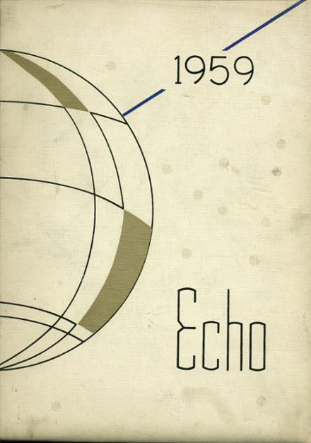 1959 Passaic High School Yearbook Cover