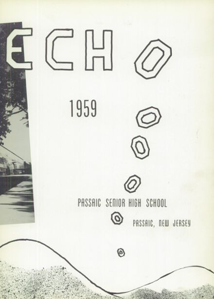 1959 Passaic High School Yearbook Page 5