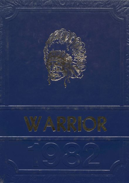 1982 Indianola High School Yearbook Cover