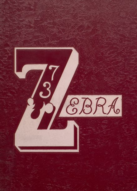 1973 Pine Bluff High School Yearbook Cover