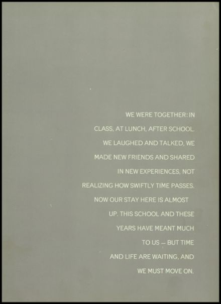 1960 Wilton High School Yearbook Page 5