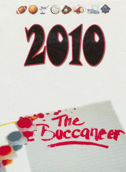 2010 Covington High School Yearbook Cover