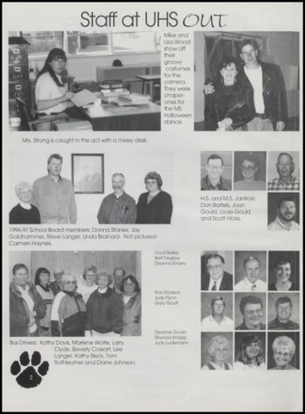 1997 Upton High School Yearbook Page 6