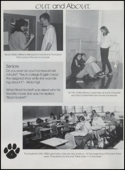1997 Upton High School Yearbook Page 8