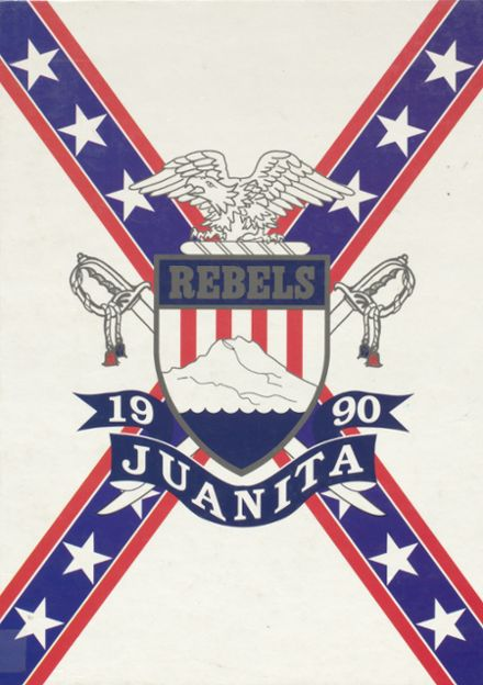 1990 Juanita High School Yearbook Cover