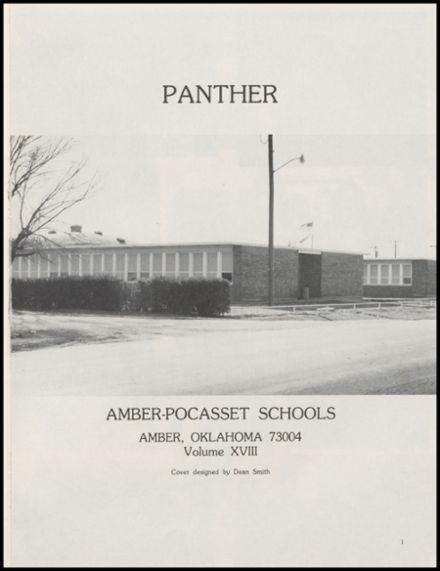 1983 Amber-Pocasset High School Yearbook Page 5