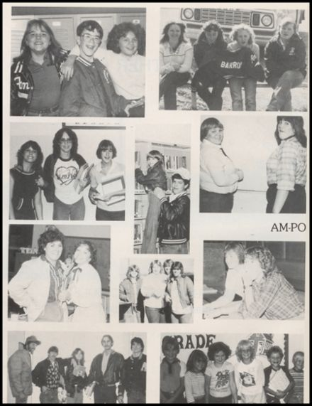 1983 Amber-Pocasset High School Yearbook Page 6