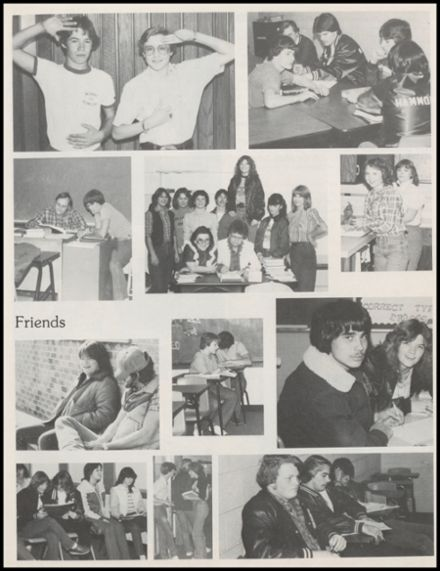 1983 Amber-Pocasset High School Yearbook Page 7