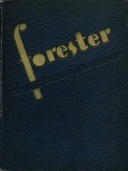 1942 Forest Park High School 406 Yearbook Cover