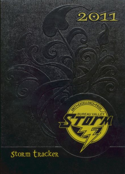 2011 Bureau Valley High School Yearbook Cover