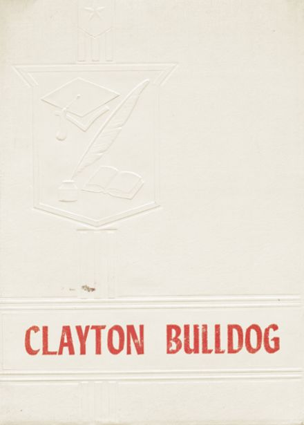 1950 Clayton High School Yearbook Page 1