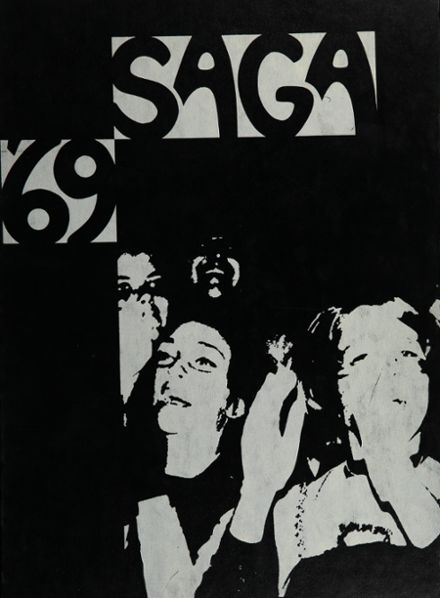 1969 John A. Rowland High School Yearbook Cover