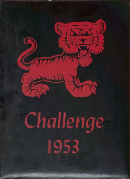 1953 Fairview High School Yearbook Cover