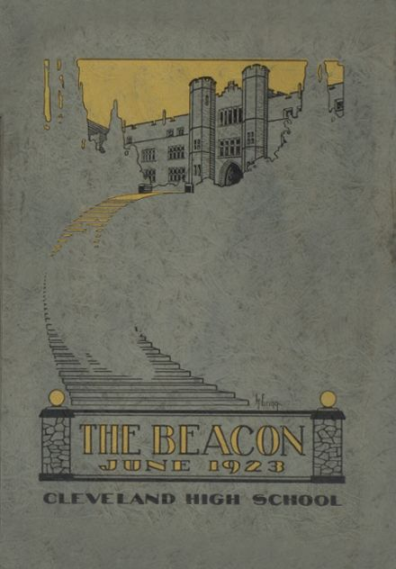 1923 Cleveland High School Yearbook Cover