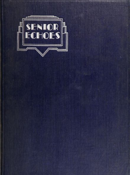 1931 Franklin K. Lane High School Yearbook Cover