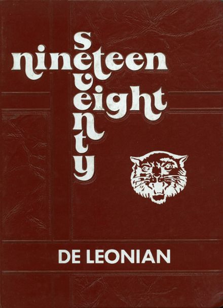 1978 DeLeon High School Yearbook Cover