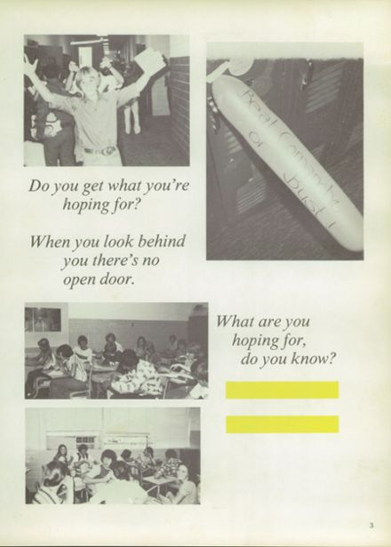 1978 DeLeon High School Yearbook Page 7