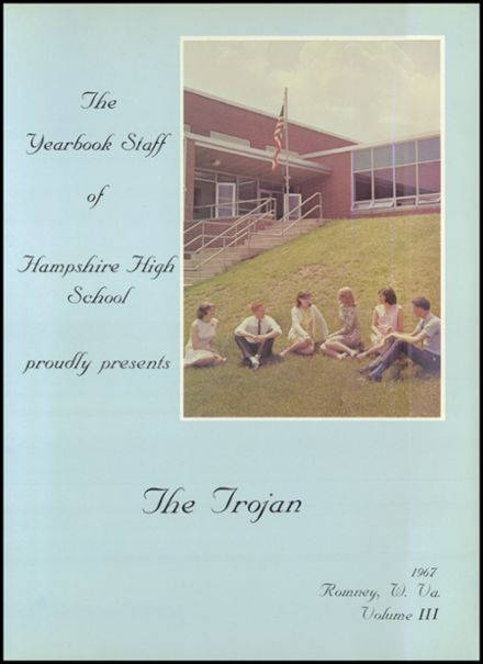 1967 Hampshire High School Yearbook Page 5