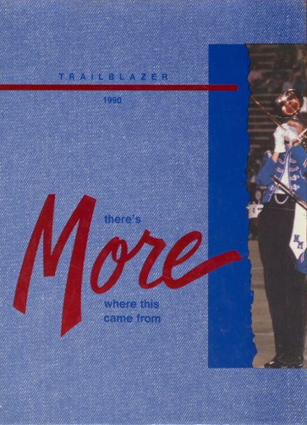 1990 North Mesquite High School Yearbook Cover