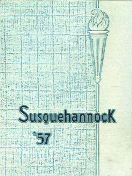 1957 Columbia High School Yearbook Cover