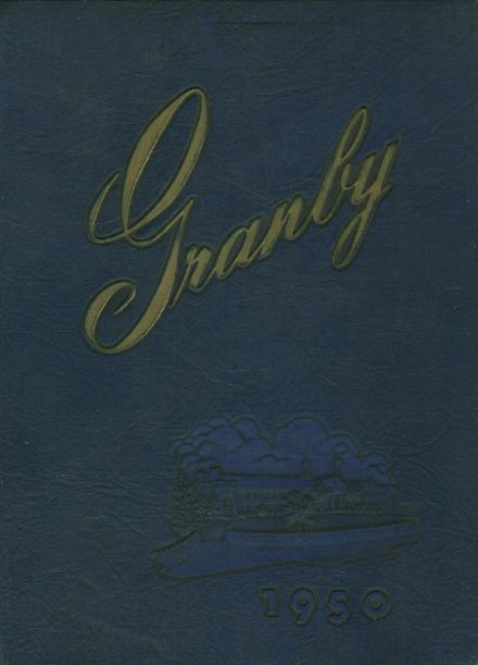 1950 Granby High School Yearbook Cover