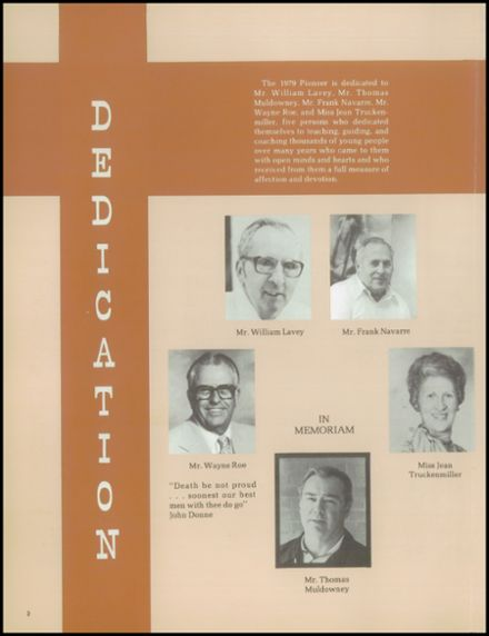 1979 Dearborn High School Yearbook Page 6