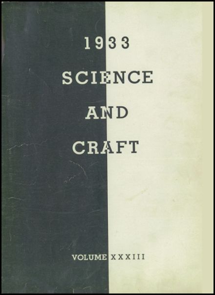 1933 Crane Technical High School Yearbook Page 3