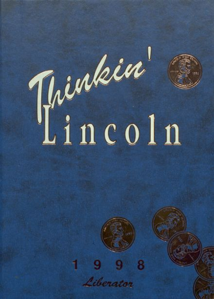 1998 Lincoln High School Yearbook Cover