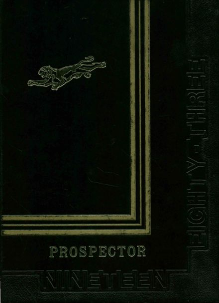 1983 Superior High School Yearbook Cover