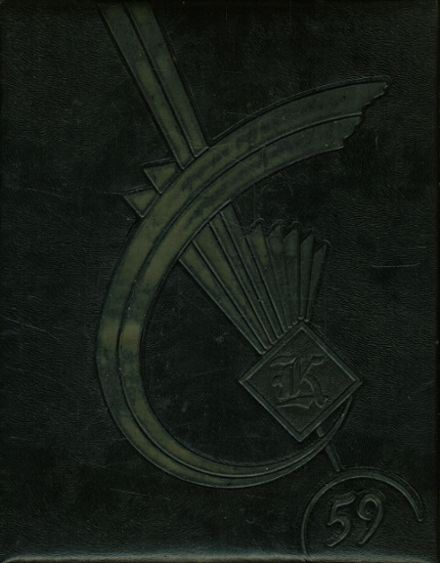1959 Knoxville High School Yearbook Cover
