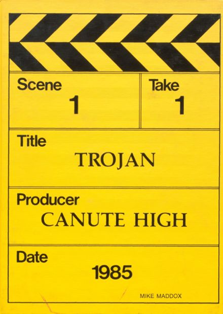 1985 Canute High School Yearbook Cover