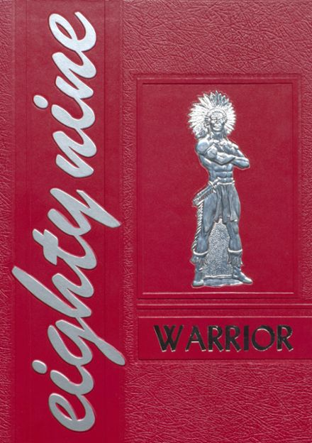 1989 Ohatchee High School Yearbook Cover