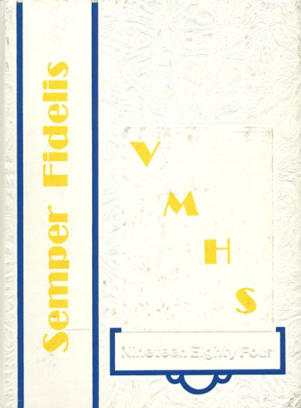 1984 Vincent Memorial High School Yearbook Cover