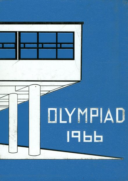 1966 Olympia High School-W.W. Miller High School Yearbook Cover