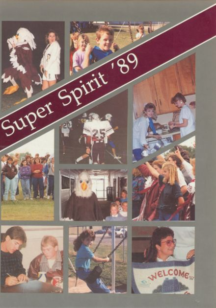 1989 Mildred High School Yearbook Cover