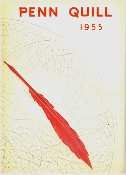 1955 William Penn High School Yearbook Cover
