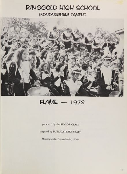 1973 Ringgold High School Yearbook Page 5