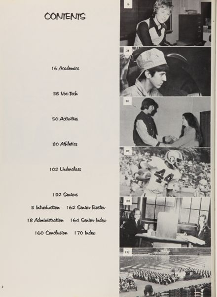 1973 Ringgold High School Yearbook Page 6