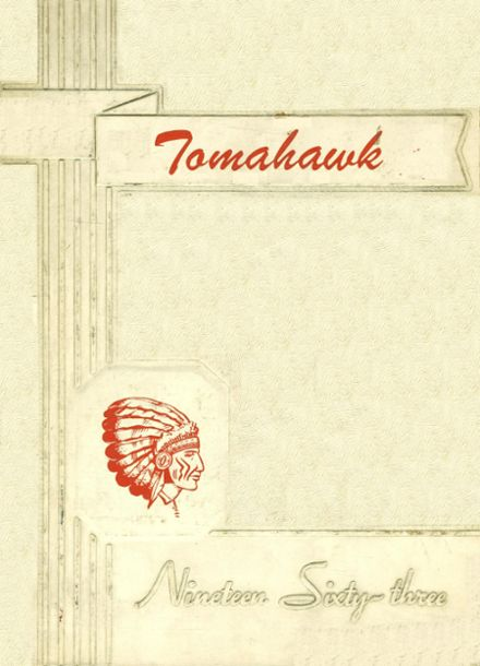 1963 Groveton High School Yearbook Cover