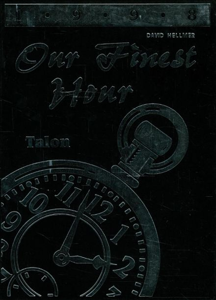 1998 Jefferson Area High School Yearbook Cover